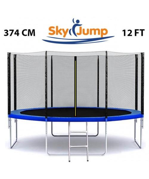 Батут Sky Jump 12 фт., 374 см. КРАЩА ЦІНА!