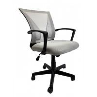 Крісло офісне Star C487 сітка, сіре