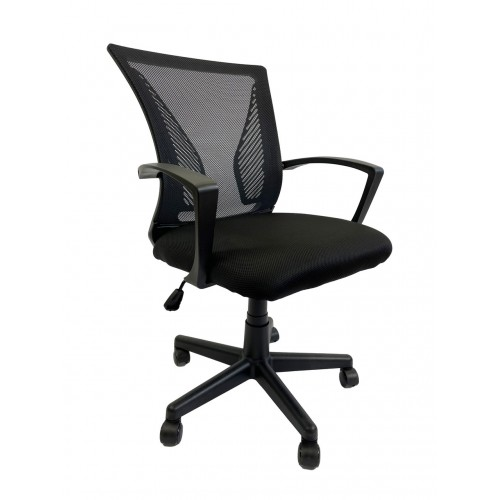 Крісло офісне Star C487 сітка, чорне