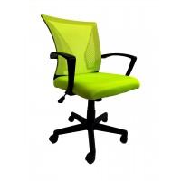 Крісло офісне Star C487 сітка, салатове