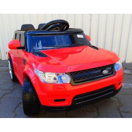 Детский электромобиль джип Range Rover + резин EVA колеса + 2 мотора