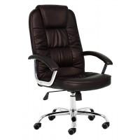 Крісло офісне 9947 темно-коричневе